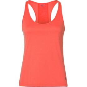 asics Loose - Camiseta sin mangas running Mujer - rojo